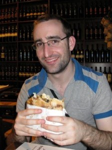 Tom McEwin with Sandwich