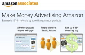 Sign up for the Amazon Assoicates Program
