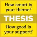 How smart is your Theme?  How good is your support? Check out Thesis Theme for WordPress.